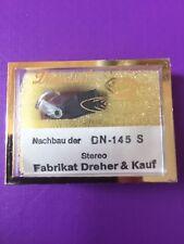 Ersatznadel Dual DN 145 S Nachbau passend auch für Saba, Schneider uvm. - Neu !