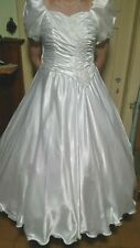 ein Brautkleid/Kostüm in weiß Gr 46/48/50/52