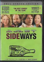 Sideways (DVD, 2005, Full Screen) Comedy R Paul Giamatti Thomas Haden Church