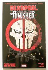 Deadpool Vs. The Punisher Marvel Graphic Novel Comic Book