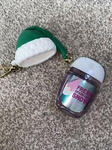 Bath & Body Works Anti Bac Grinch Hat Holder + Fresh Sparkling Snow Gel