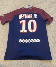 Paris Saint-Germain PSG 2017 Neymar Jr Nike Shirt Jersey #10 Soccer Men's Medium