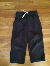TCP The Children's Place Fleece Dark Grey Pants Gray Boys Size 5-6