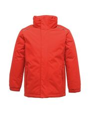 Regatta Childrens Jacket Waterproof Windproof Hood 98 - 176 Jacket Young Girl Red 152