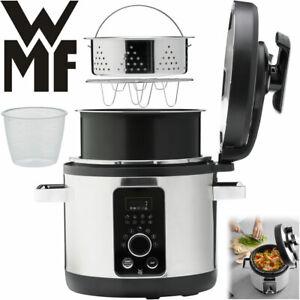 WMF Multifunktionskocher 8in1 Multikocher Dampfgarer Reiskocher Schnellkochtopf