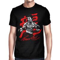 Bruce Lee Graphic T-Shirt, Premium Cotton Tee, Men's Women's All Sizes