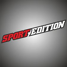 1x Aufkleber Sticker Fahrrad Sport Edition Passt für KTM u. Ford Ranger 4x4 Rad
