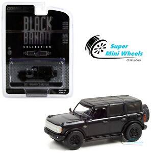 Greenlight 1:64 Black Bandit - 2021 Ford Bronco Wildtrak - 28070-F
