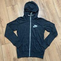 Nike Women's Vintage Zip Up Hoodie Size XS 813872 010 Grey NEW