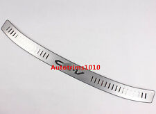 Stainless Steel Rear Bumper Protector Sill Plate Cover For Honda CR-V 2007-2011