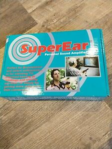 SONIC TECHNOLOGY SUPER EAR PERSONAL SOUND AMPLIFIER BRAND NEW (B3)