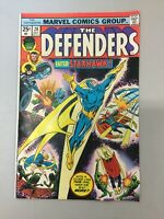 The Defenders 28 Marvel Comics 1975 Bronze Age 1st Appearance Starhawk