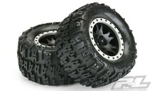 """Pro-Line Trencher 4.3"""" Pro-Loc All Terrain X-Maxx Tires Mounted 10151-13"""