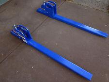 Tractor Bobcat forklift fork front end loader bucket attachment extention 1350kg