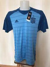 5+/5 Spain 2015/2016 Goalkeeper Sz M Adidas shirt jersey maillot football soccer