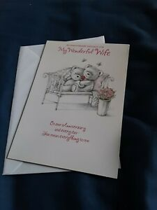 Wife anniversary Card NEW - bears