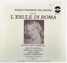 Donizetti: L'esule Di Roma / Head, Ricciarelli, Bogart, Gibbs, 1982 - LP
