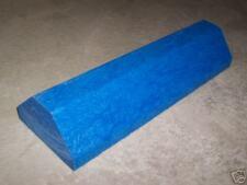 Solid Blue Plastic Garage Stop Parking Guide - Car Truck Boat RV - Heavy Duty