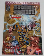 Iron Man # 9 [Heroes Reborn] VF Marvel France 1998