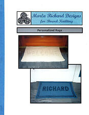 Personalized Rug Pattern for Knitting Board, Loom,Frame