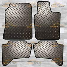 MITSUBISHI L200 LIFE DBL CAB 06-15 TAILORED 3MM RUBBER HEAVY DUTY CAR FLOOR MATS