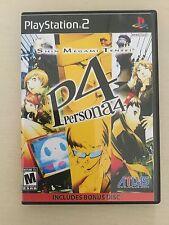 Replacement Case (NO GAME!) Shin Megami Tensei Persona 4  - Sony Playstation 2