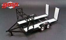 GMP 18836 Gas Monkey Motorsportanhänger - Trailer - Anhänger - schwarz 1:18