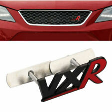 VXR Badge Black & Red Corsa D/E Astra H/J Front Grille Opel Vauxhall Dechrome