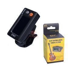 ENO ET-31GB Electronics Digital Automatic Chromatic Clip Guitar Bass Tuner Black