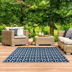Playa Rug Amsterdam, Reversible, Indoor/Outdoor Recycled Plastic Floor Mat/Rug