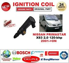 FOR NISSAN PRIMASTAR X83 2.0 120-bhp 2001-ON IGNITION COIL 2-PIN CONNECTOR
