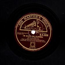 Tex Beneke W Glenn Miller Orch 78 texas TEX/EN ROUTE POUR LA CALIFORNIE BD 5956 E