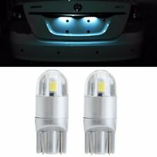 1 Pair 3030 2 LED T10 9-30V Car Lamp License Plate White Light Bulbs Roof lights
