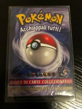 ITALIAN Sealed BASE Starter Set Theme Deck - Pokémon TCG 1999