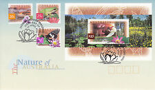 NATURE OF AUSTRALIA - WETLANDS 1997 - FDC (JP)