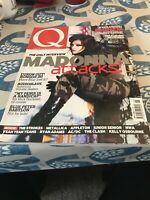 Q MAGAZINE - Issue 202 May 2003 - Madonna / Eminem / Blur / Audioslave / NWA