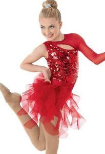 Weissman Dance Costume- Jazz Red