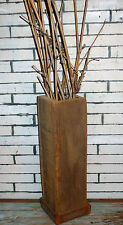 Ca. Art Reclaimed Barn Wood Vase Rustic Modern Country Urban Chic Made In USA