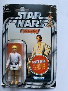 STAR WARS Retro Collection Wave 1 Luke Skywalker. New