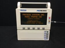 Protocol ProPaq 102EL Vital Sign Monitor w/ Printer and Accessories *Tested*