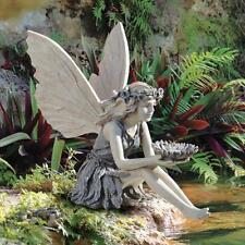 New Design Toscano The Sunflower Fairy Statue Garden / Home Ornament