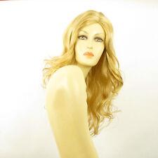 Parrucca donna lunga ricci biondo chiaro dorato JENNIFER LG26
