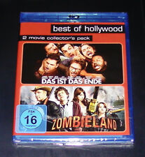Zombieland/The Ist Das Ende Double Blu-Ray FASTER SHIPPING NEW ORIGINAL PACKAGE