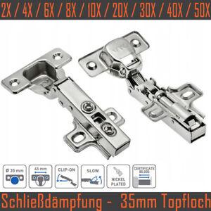 Türscharniere Softclose Scharnier Federscharniere Schrank Dämpfer GTV PLight