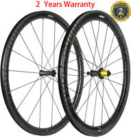 Front 38mm Rear 50mm Carbon Wheels Clincher Carbon Wheelset Ceramic Hub Bicycle