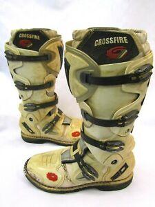 Sidi Crossfire SRS Off-Road Motocycle Motocross MX-Enduro ATV Quad Boots UK 10.5