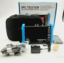 "7"" IPC-9800 Plus+ CCTV Camera Tester IPS POE WiFi 4K H.265 HDMI 8GB TF Card"