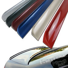 For VOLKSWAGEN Jetta GLI TDI MK6 11-17 model boot trunk rear lip spoiler Painted