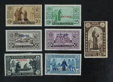 CKStamps: Italy Stamps Collection Eritrea Scott#143-149 Mint H OG