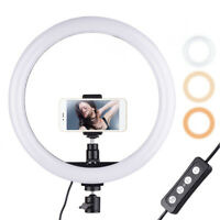 5500K Lampada video luce ad anello LED per iPhone X / 8/7/6 Samsung Huawei Q0S7